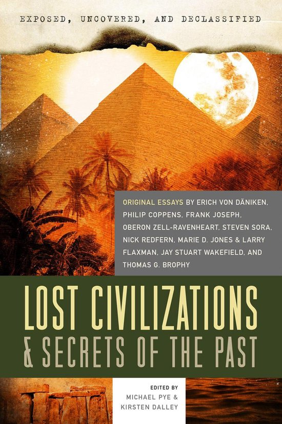 Boek cover Exposed, Uncovered, & Declassified: Lost Civilizations & Secrets of the Past van Kirsten Dalley (Onbekend)