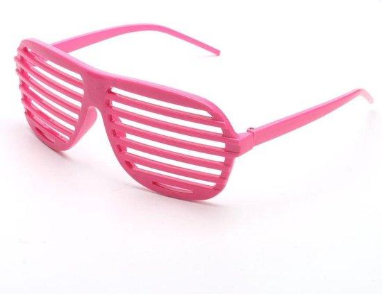 Shutter bril roze