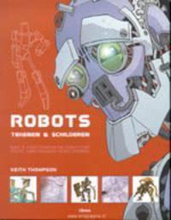 Robots tekenen & schilderen - Keith Thompson  