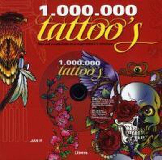 Cover van het boek '1.000.000 tattoos' van Chris McLoughlin