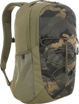The North Face Jester Rugzak 29 liter - Burnt Olive Green / Woods Camo Print