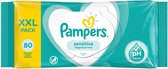 Pampers sensitive billendoekjes - 560 stuks (7*80)