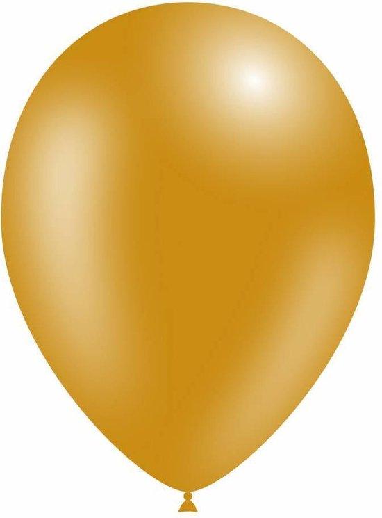 Gouden Ballonnen Metallic 25cm 50 stuks