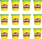 Play-Doh Groene Klei - 12 Potjes