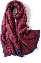 Warme Dames Sjaal – Shawl Vrouwen – Red