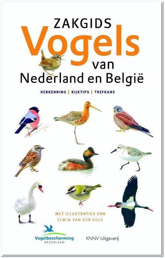 Boek cover Zakgids Vogels van Nederland en Belgie van Luc Hoogenstein (Paperback)