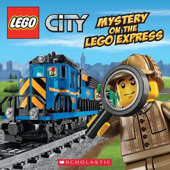 Boek cover LEGO City: Mystery on the LEGO Express van Trey King (Onbekend)