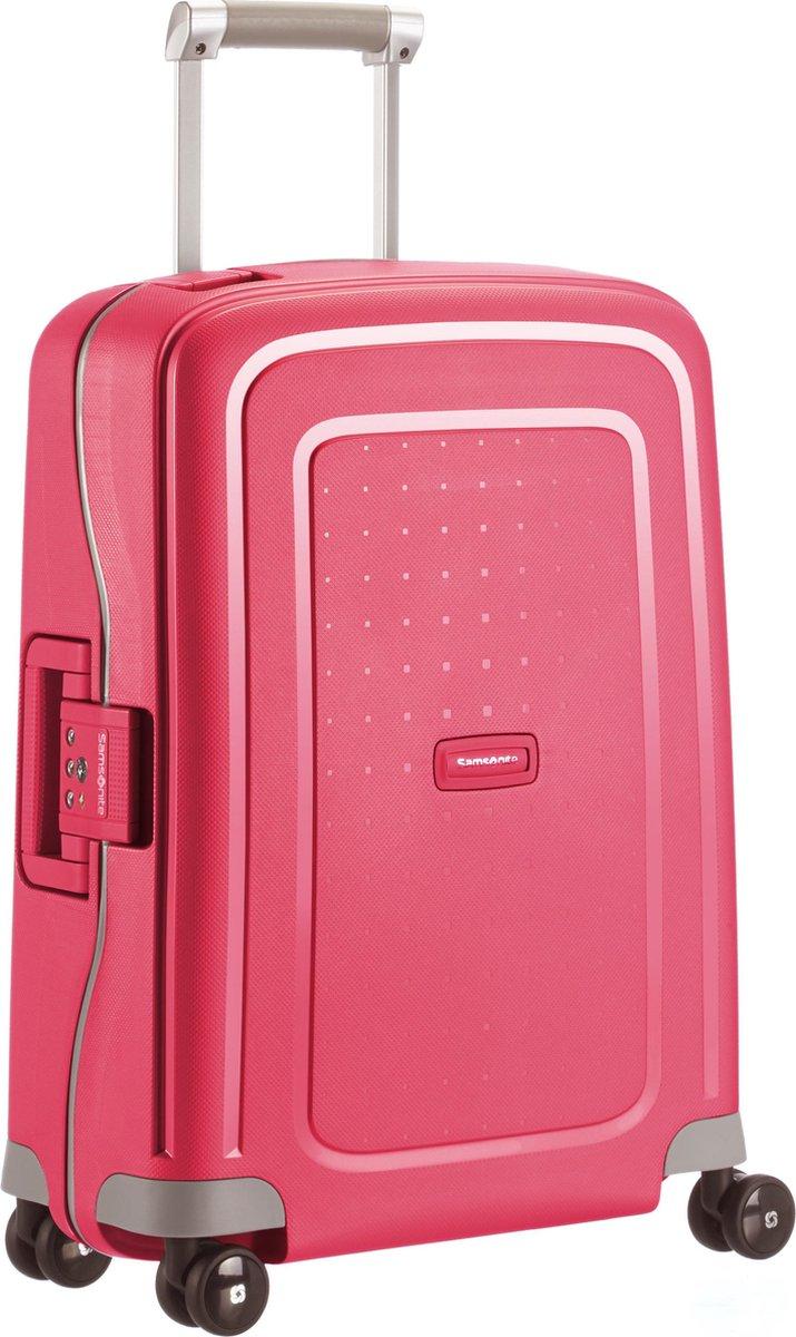 Samsonite Reiskoffer - S'Cure Spinner 55/20 (Handbagage) Bright Pink - Samsonite