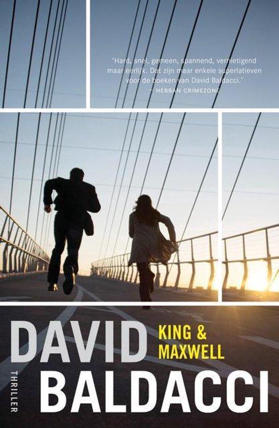 Boekomslag voor King & Maxwell 6 - King & Maxwell