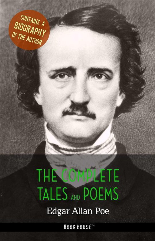 Boek cover Edgar Allan Poe: The Complete Tales and Poems + A Biography of the Author van Edgar Allan Poe