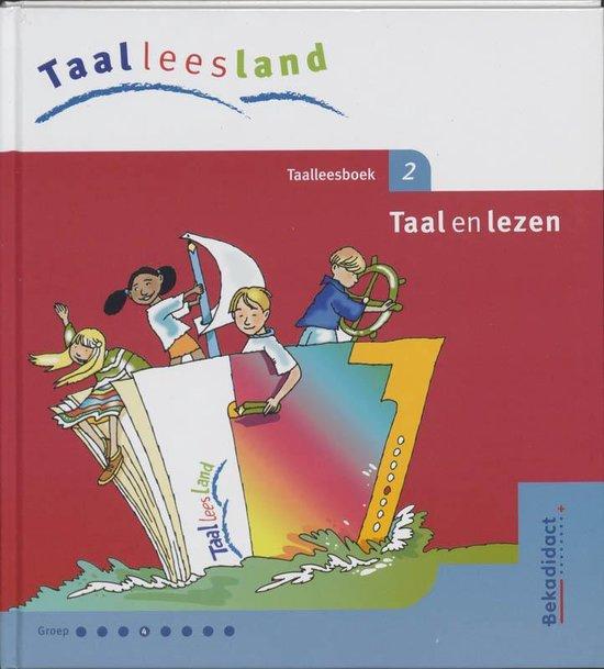 Taalleesboek 2 taal en lezen groep 4 taalleesland - M. Alema |