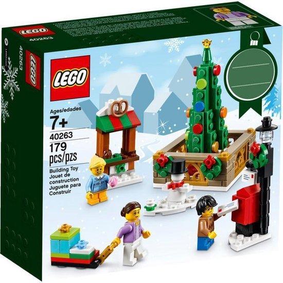 Kerst LEGO Dorpsplein - 40263