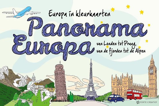 Panorama Europa. Europa in kleurplaten - none pdf epub