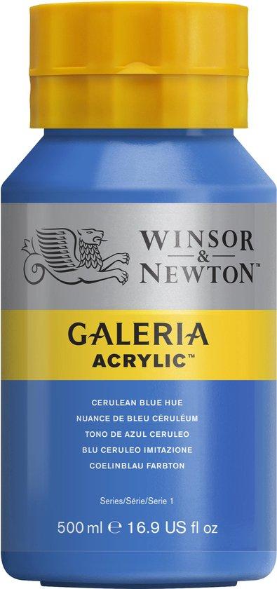 Winsor & Newton Galeria Acrylverf 500ml 138 Cerulean Blue Hue
