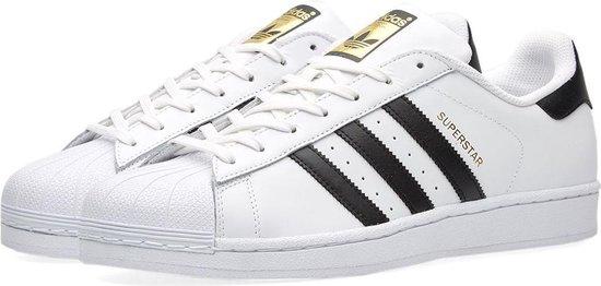 adidas Superstar C77124, Mannen, Wit, Sneakers maat: 48 2/3 EU