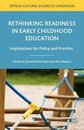 Omslag Rethinking Readiness in Early Childhood Education