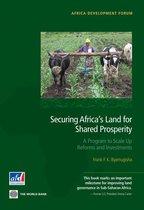 Omslag Securing Africa's Land for Shared Prosperity