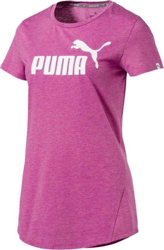 Puma - Ess no1 Logo Tee - Dames - maat L