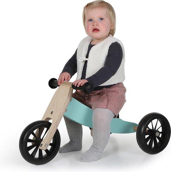 Bandits and Angels Smart bike 4in1 Mint-Groen - Loopfiets