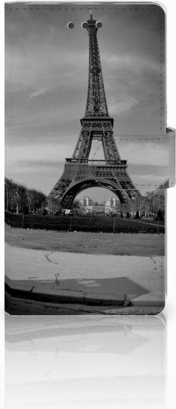 Huawei Ascend P8 Lite Uniek Hoesje met Opbergvakjes Eiffeltoren