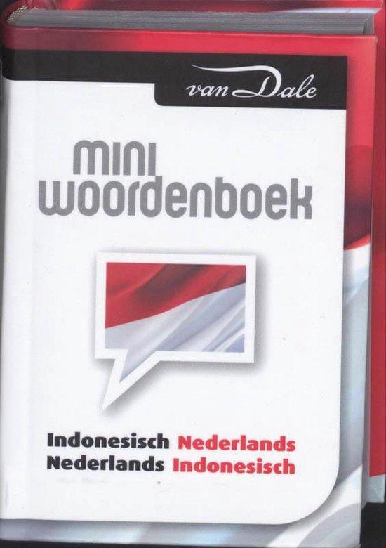 Van Dale miniwoordenboek Indonesisch - Onbekend  