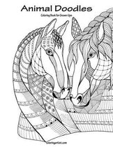 Animal Doodles Coloring Book for Grown-Ups 1
