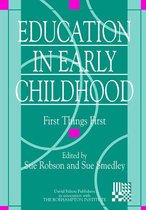 Omslag Education in Early Childhood