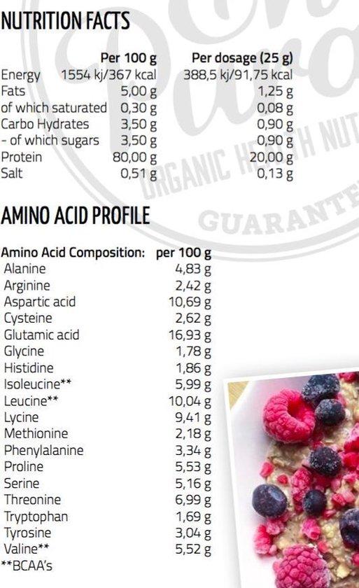 Ekopura Organic Whey Protein (Bio wei eiwitten) - 500 gram
