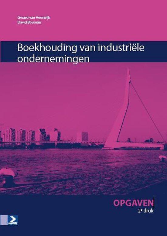 Boek cover Boekhouding industriële ondernemingen van Gerard van Heeswijk (Paperback)