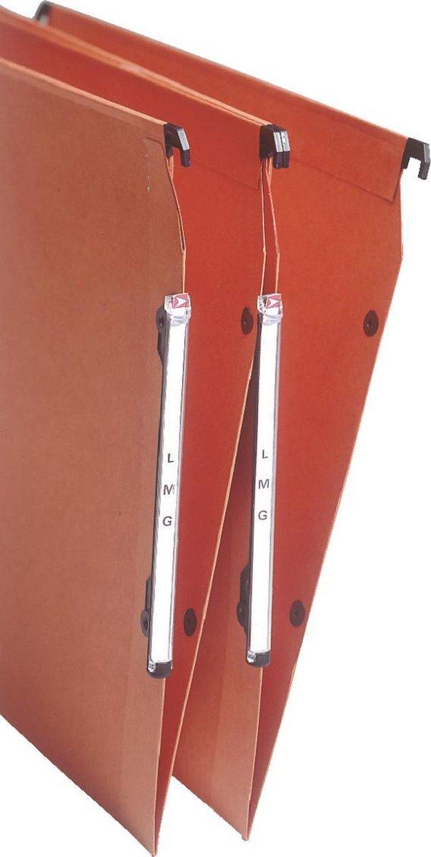 Esselte Orgarex VisioPlus Laterale Hangmap - A4 - Oranje- 25 stuks