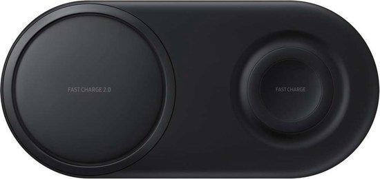 Samsung Wireless Duo Charger - Draadloze oplader - Zwart