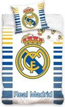 Dekbedovertrek Real Madrid barcode 140/200