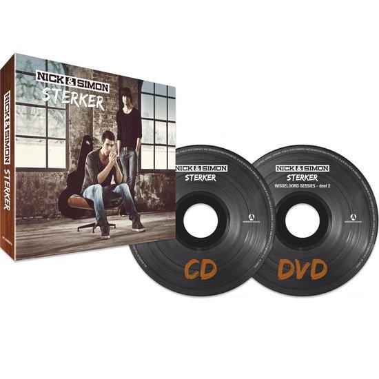 CD cover van Sterker (Deluxe Edition) van Nick & Simon