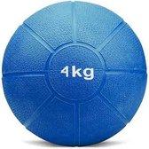 Matchu Sports - Medicijn ball - 4 kg - Blauw