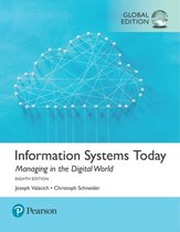 Afbeelding van Information Systems Today: Managing the Digital World, Global Edition