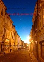 Recueil de poèmes 2014