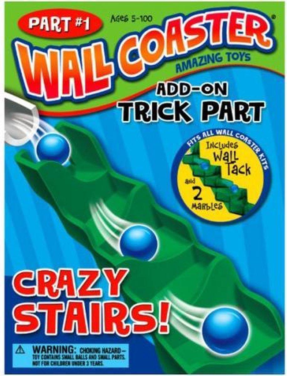 Wallcoaster knikkerbaan Stairs