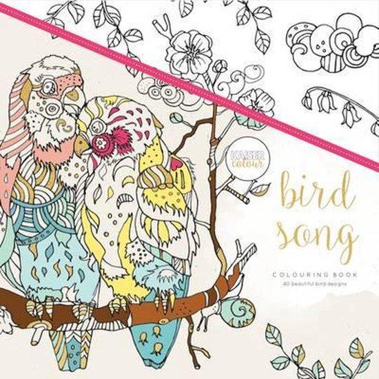 Kaisercraft Kleurboek voor Volwassenen - Bird Song - Kaisercraft |