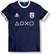PLAYSTATION - T-Shirt FC Blue Club Logo Plus Icon - Navy Blue (M)