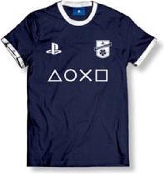 PLAYSTATION - T-Shirt FC Blue Club Logo Plus Icon - Navy Blue (M)