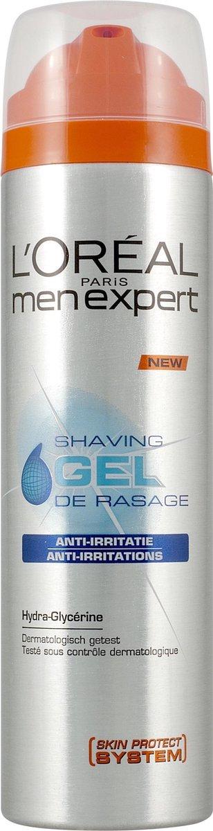 L'Oréal Men Expert Anti-Irritaties Shaving Gel - scheren - 200ml - Scheergel - L'Oréal Paris Men Expert