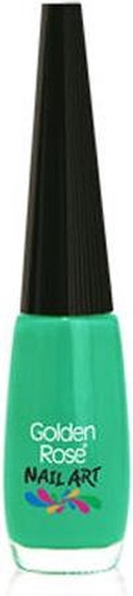 Nail art pen / nail art striper GROEN 130 van Golden Rose.