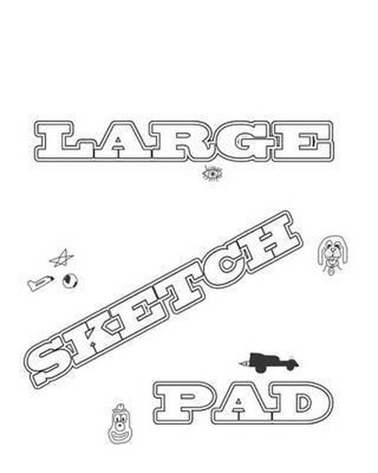 Large Sketch Pad