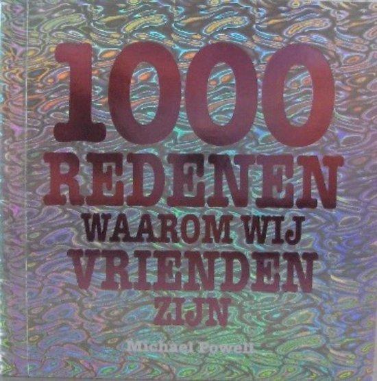 Cover van het boek '1000 redenen waarom we vrienden zijn' van  Powell en M. Powell