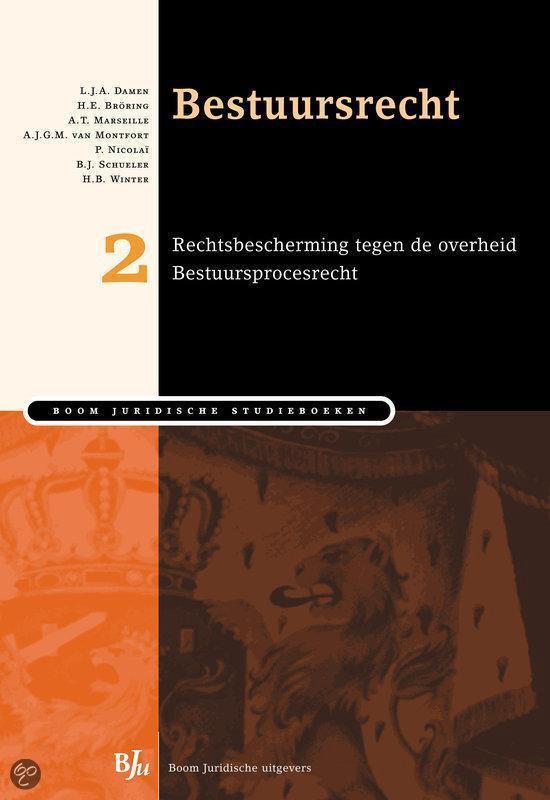 Boek cover Bestuursrecht - deel 2 van L.J.A. Damen (Paperback)