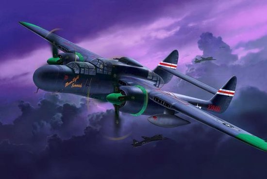 Revell Northrop P-61A/B Black Widow model vliegtuig