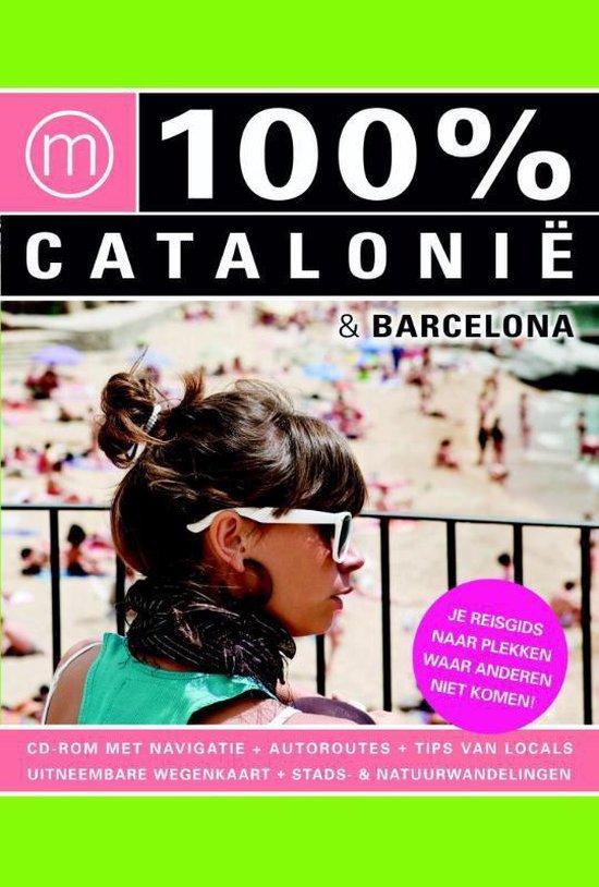 Cover van het boek '100% Catalonie en Barcelona' van Ferenz Jacobs