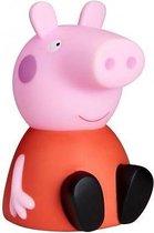 Peppa Pig Nacht- En Zaklamp 16 Cm Rood/roze
