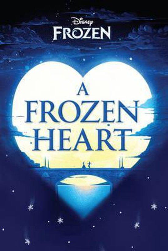 Boek cover Disney Frozen A Frozen Heart van Elizabeth Rudnick (Paperback)