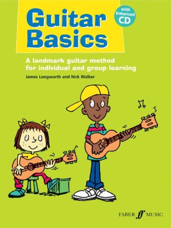 Boek cover Guitar Basics van Nick Walker (Paperback)